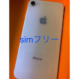 iPhone - iPhone8 64GBsim フリー/バッテリー95%