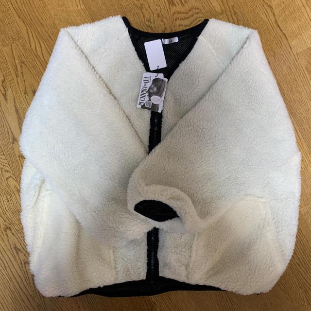 しまむら(シマムラ)の2月24日までお値下げ!プチプラのあや ボアジャケット レディースのジャケット/アウター(ダウンコート)の商品写真