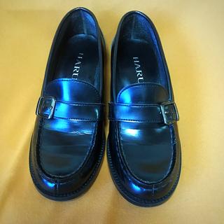 ハルタ(HARUTA)のHARUTA ローファー ブラック(ローファー/革靴)