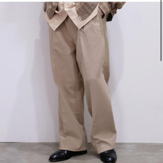 COMOLI - 19aw オーラリー パンツ スラックス