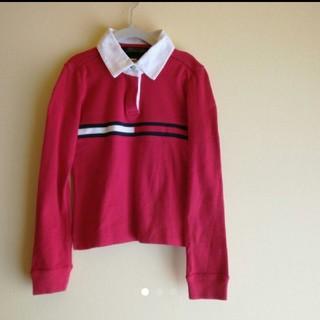 トミーヒルフィガー(TOMMY HILFIGER)のTOMMY HILFIGER 襟付き カットソー(Tシャツ/カットソー)