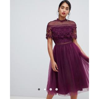 エイソス(asos)のASOS chi chi london 結婚式 お呼ばれドレス・ワンピース(ミディアムドレス)