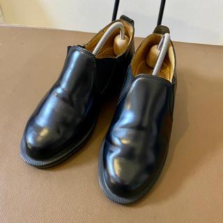 Dr.Martens - ドクターマーチン スリッポン サイドゴア 革靴 レディース イングランド製