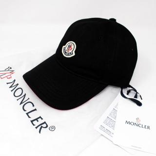 MONCLER - 新品 2020SS MONCLER ロゴ キャップ ブラック