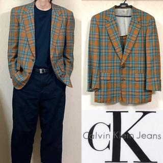 Calvin Klein - 90's Calvin Klein カルバンクライン ジャケット カラースーツ