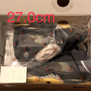 NIKE - 27cm SNKRS当選 ジョーダン5 off-white