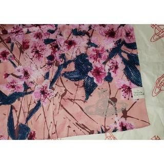 Vivienne Westwood - 🌸最新作先取り🌸春物🌸桜柄ハンカチPK🌸ヴィヴィアンウエストウッド
