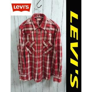 リーバイス(Levi's)のLevi's リーバイス RED TAB 厚手 チェックシャツ ウエスタンシャツ(シャツ)