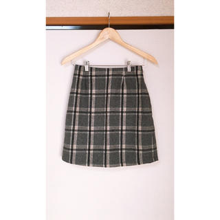 アルシーヴ(archives)のミニスカート ひざ丈 チェック ARCHIVES(ひざ丈スカート)