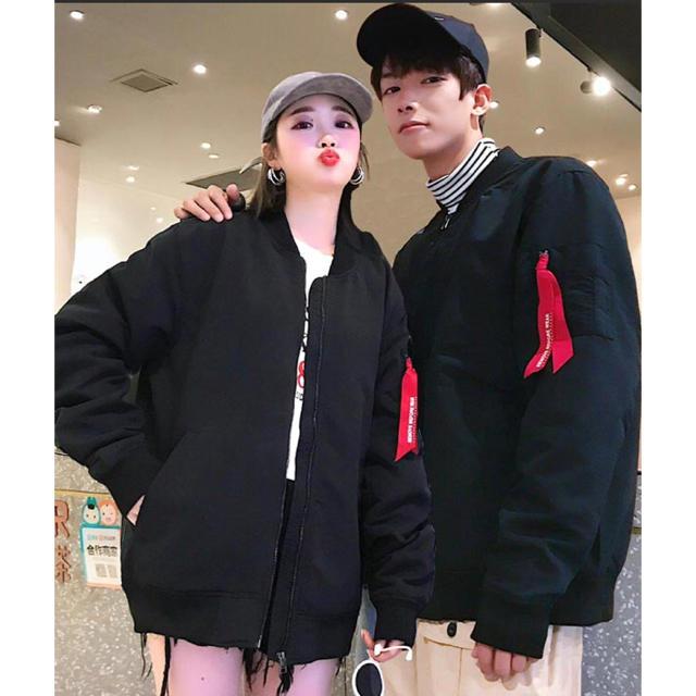 【neos -sellect design-】ミリタリー MA-1  メンズのジャケット/アウター(ブルゾン)の商品写真