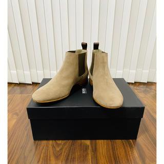 ヒューゴボス(HUGO BOSS)のHUGO BOSS ヒューゴボス 新品 サイドゴアブーツ チェルシーブーツ(ブーツ)