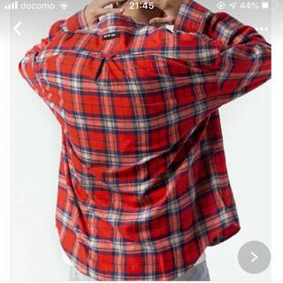 FEAR OF GOD - FOG essentials チェックシャツジャケット