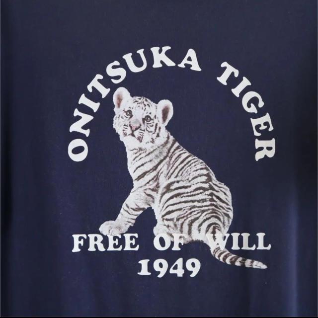 Onitsuka Tiger(オニツカタイガー)の【限定品】オニツカタイガー  チュニックTシャツ メンズのトップス(Tシャツ/カットソー(半袖/袖なし))の商品写真