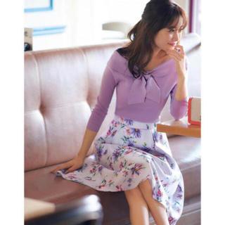 Apuweiser-riche - マーガレットプリントスカート♡