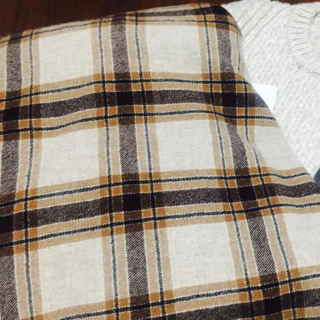 SUNSEA(サンシー)のSUNSEA 18AW チェックストール タグ付 メンズのファッション小物(ストール)の商品写真