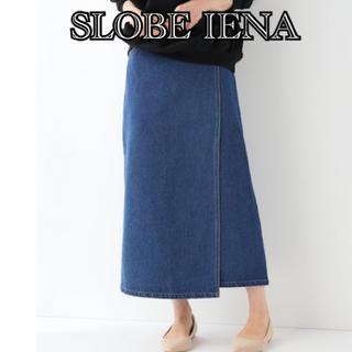 IENA SLOBE - スローブイエナ ラップデニムスカート