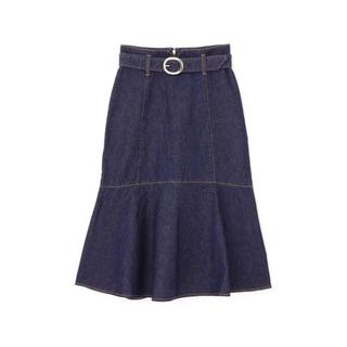プロポーションボディドレッシング(PROPORTION BODY DRESSING)のマーメイドミモレデニムスカート(ロングスカート)