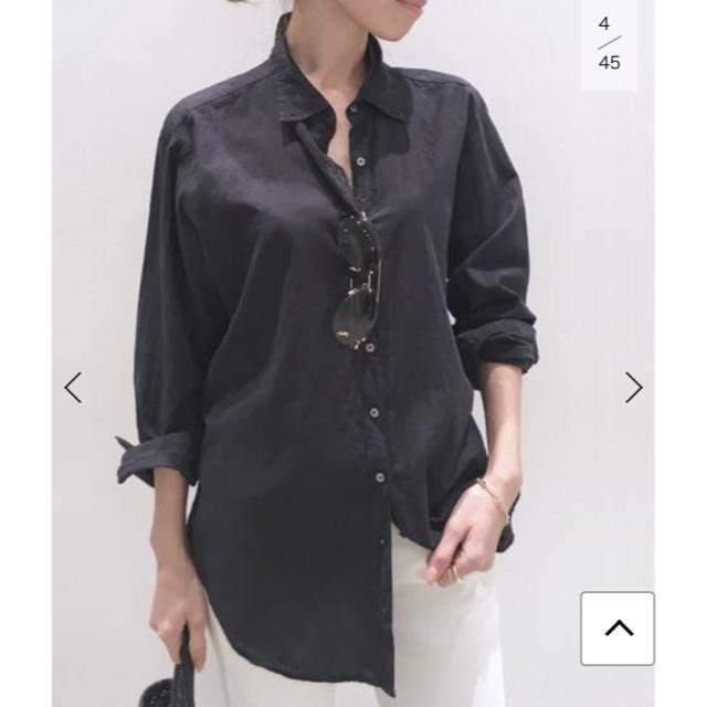 L'Appartement DEUXIEME CLASSE(アパルトモンドゥーズィエムクラス)の新品 タグ付き XiRENA シャツ (cotton poprin) レディースのトップス(シャツ/ブラウス(長袖/七分))の商品写真