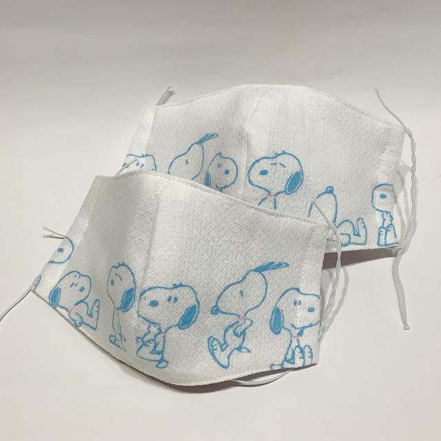 不織布 マスク 素材 | #223 マスク 立体マスク 大人女性用 2枚セット ハンドメイドの通販