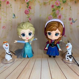 アナトユキノジョオウ(アナと雪の女王)のねんどろいど アナ エルサ(キャラクターグッズ)