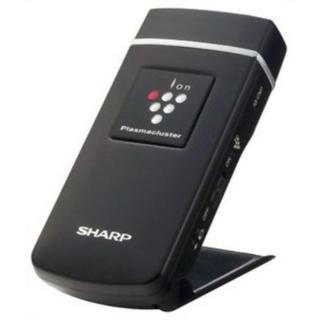 SHARP - プラズマクラスター 25000搭載 モバイルタイプ ブラック系 IG-CM1-B