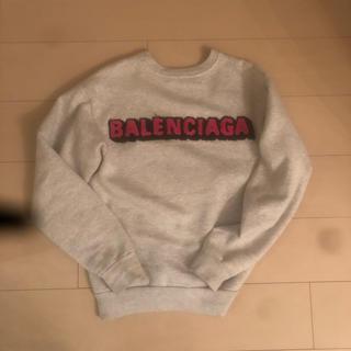 バレンシアガ(Balenciaga)のバレンシア トレーナー パーカー(トレーナー/スウェット)
