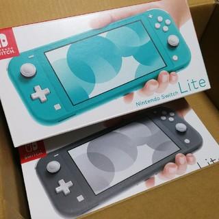 Nintendo Switch - 新品未開封 ニンテンドースイッチライト 2台