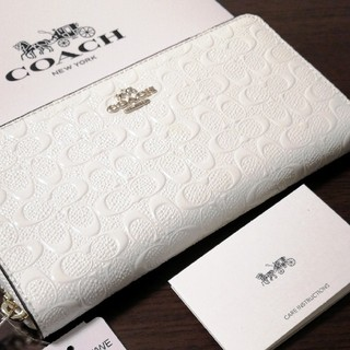 COACH - 【クーポン時限定値下げ13500→12800円】新品 COACH シグネチャー