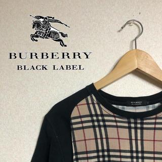 BURBERRY BLACK LABEL - Burberry Black Lavel バーバリーブラックレーベル tシャツ