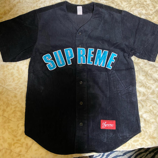 Supreme - supreme ベースボールシャツ