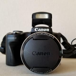 Canon - Canon キャノン PowerShot SX500 IS 高倍率デジカメ