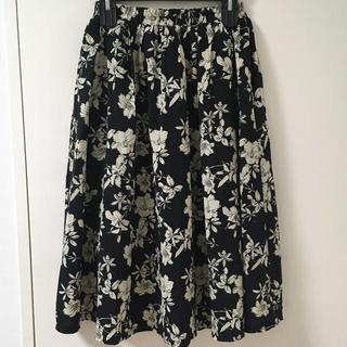 エムズエキサイト(EMSEXCITE)のエムズエキサイト お洒落な花柄スカート(ロングスカート)