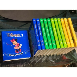 ディズニー(Disney)のDWE Sing Along DVD 12枚 セット シングアロング(その他)