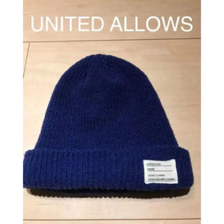 ビューティアンドユースユナイテッドアローズ(BEAUTY&YOUTH UNITED ARROWS)の☆値下げ☆ユナイテッドアローズ ニット帽 ニットキャップ(ニット帽/ビーニー)