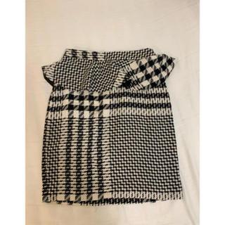 ZARA - ZARA ペプラム スカート