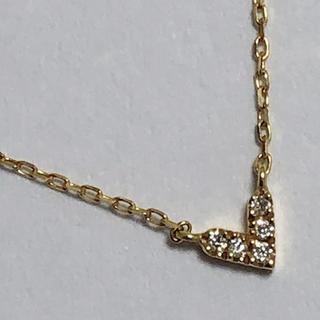 AHKAH - AHKAH アーカー ダイヤモンドネックレス ダイヤモンドペンダント k18yg