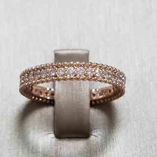 新作シミュレーションモアサナイト フルエタニティリング(リング(指輪))