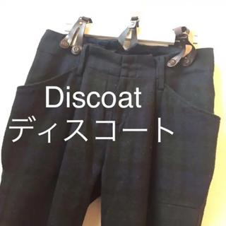 Discoat - → Discoat/ディスコート*パンツ サスペンダー ウール混 チェック