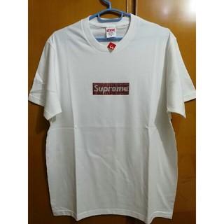 Supreme - Supreme SWAROVSKI boxlogo Tシャツ