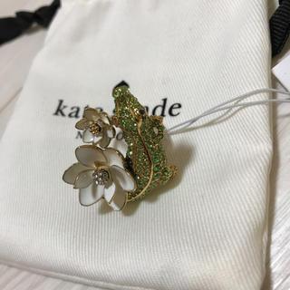 kate spade new york - ケイトスペード  クロコモチーフリング