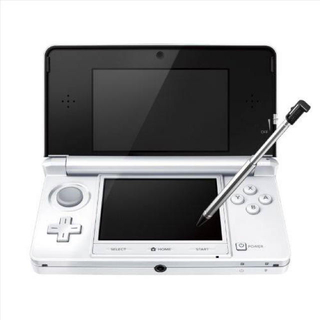 ニンテンドー3DS - 任天堂 3DS 改造済 白色