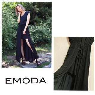 エモダ(EMODA)のEMODA ディープスリットシアーワンピース(ロングワンピース/マキシワンピース)