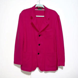 COMME des GARCONS - 2001年製 ギャルソン garcons テーラードジャケット ピンク