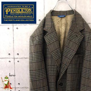 PENDLETON - 【希少】80s ペンドルトン ウールテーラードジャケット
