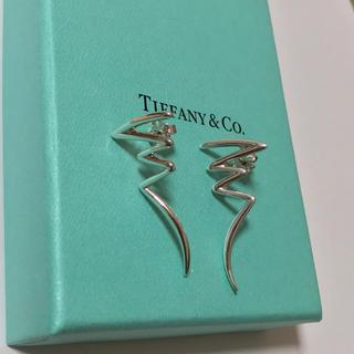 Tiffany & Co. - ティファニー スクリブル ピアス パロマピカソ スターリングシルバー