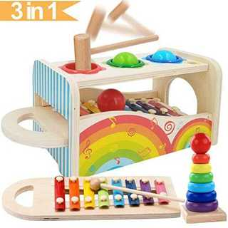 Jiudam 音楽おもちゃ 子供 パーカッション セット 赤ちゃん おもちゃ 早