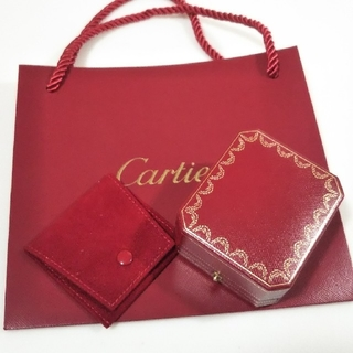 Cartier - Cartier 箱 ピアス アクセサリーケース ボックス カルティエ ショッパー