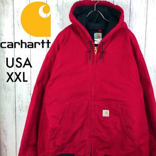 carhartt - 【激レア】【USA製】【カーハート】ダック アクティブパーカー☆XXL☆赤