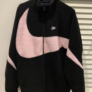 NIKE - Nike ナイキ ボアジャケット ピンク ブルゾン ビックスウォッシュ XL