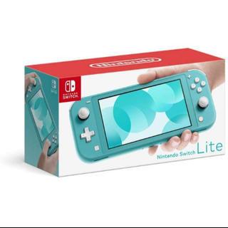 ニンテンドースイッチ(Nintendo Switch)のNintendo Switch  Lite ターコイズ(携帯用ゲーム機本体)